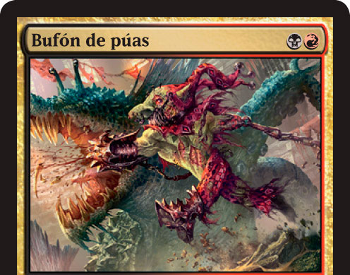 Dragon´s Maze Preview card Rebellion: Bufon de puas
